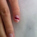 Bandeau rouge et blanc #1