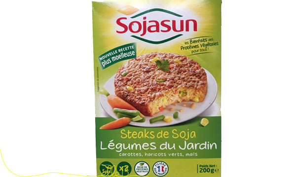 Steak de soja, Sojasun